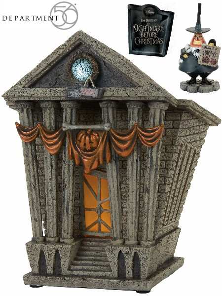 Department 56 Nightmare Before Christmas Halloweentown City Hall
